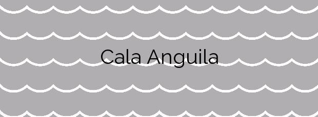 Información de la Cala Anguila en Manacor