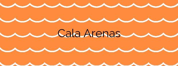 Información de la Cala Arenas en Algeciras