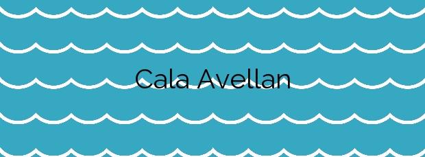 Información de la Cala Avellan en Cartagena