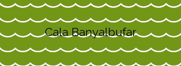 Información de la Cala Banyalbufar en Banyalbufar