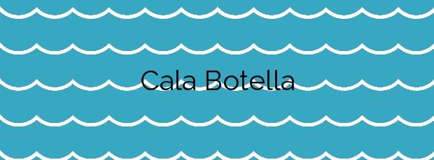 Información de la Cala Botella en Cartagena