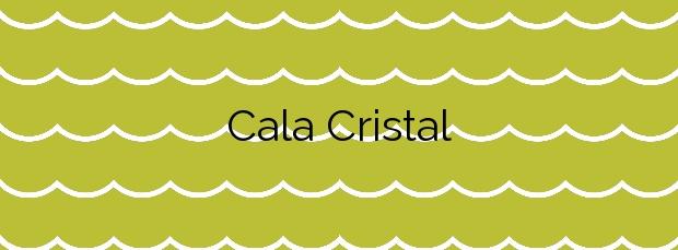 Información de la Cala Cristal en Cuevas del Almanzora