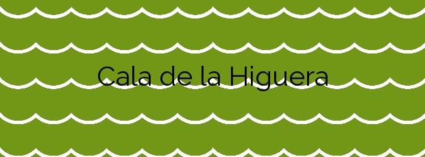 Información de la Cala de la Higuera en Torrevieja