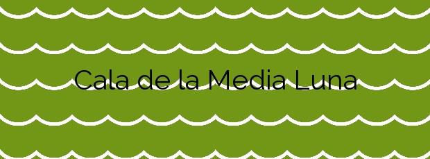 Información de la Cala de la Media Luna en Níjar