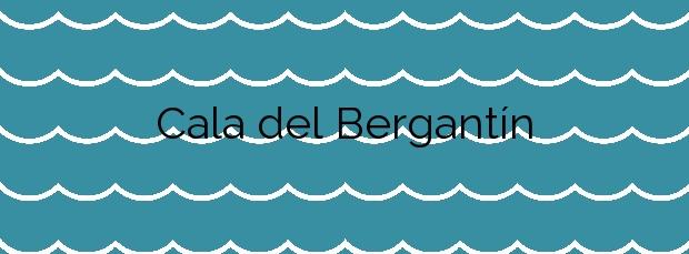 Información de la Cala del Bergantín en Níjar