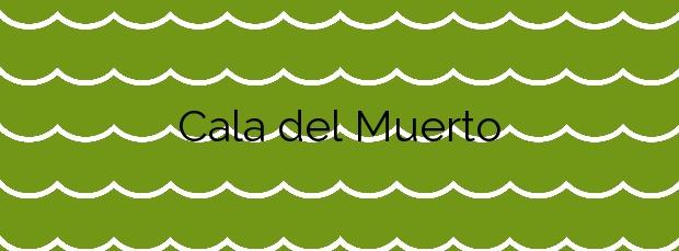 Información de la Cala del Muerto en Cartagena