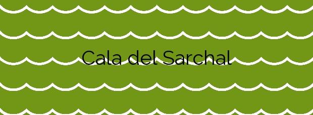 Información de la Cala del Sarchal en Ceuta