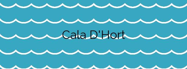 Información de la Cala D'Hort en Sant Josep de sa Talaia