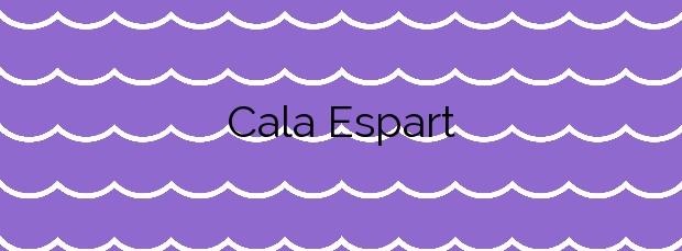 Información de la Cala Espart en Santa Eulalia del Río