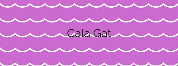 Información de la Cala Gat en Capdepera