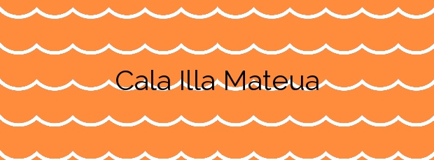 Información de la Cala Illa Mateua en L'Escala