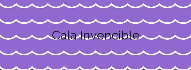 Información de la Cala Invencible en Cuevas del Almanzora