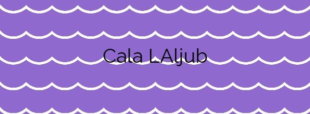 Información de la Cala L'Aljub en Peñíscola