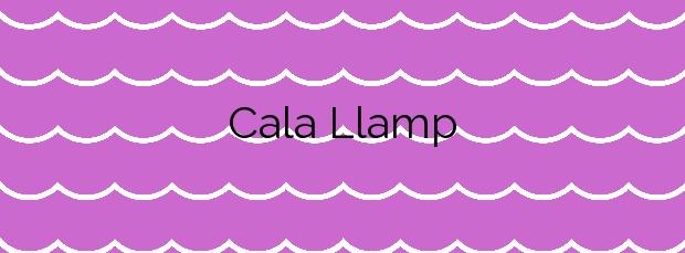 Información de la Cala Llamp en Andratx