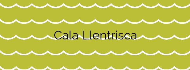 Información de la Cala Llentrisca en Sant Josep de sa Talaia