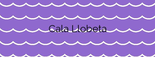 Información de la Cala Llobeta en L'Ametlla de Mar