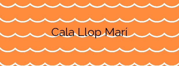 Información de la Cala Llop Marí en El Campello