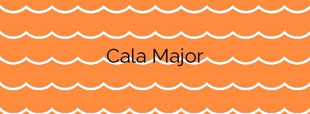 Información de la Cala Major en Palma de Mallorca