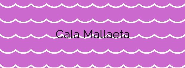 Información de la Cala Mallaeta en Villajoyosa
