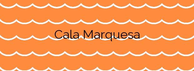 Información de la Cala Marquesa en Palafrugell