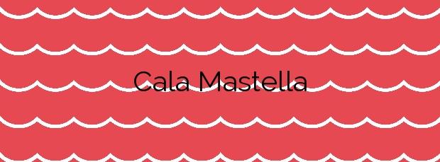 Información de la Cala Mastella en Santa Eulalia del Río