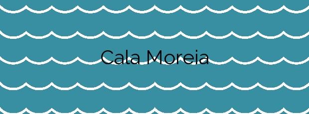 Información de la Cala Moreia en Manacor