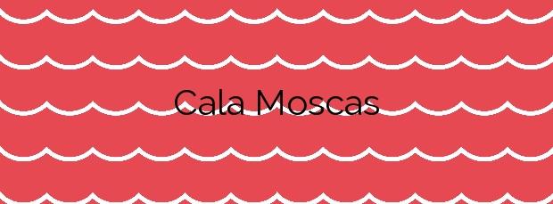 Información de la Cala Moscas en L'Ametlla de Mar