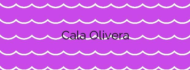 Información de la Cala Olivera en Santa Eulalia del Río