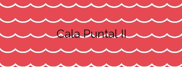 Información de la Cala Puntal II en Vinaròs