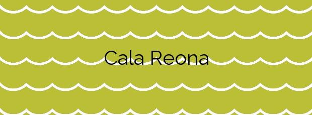 Información de la Cala Reona en Cartagena