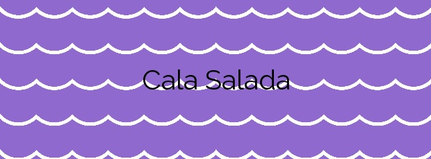 Información de la Cala Salada en Sant Antoni de Portmany
