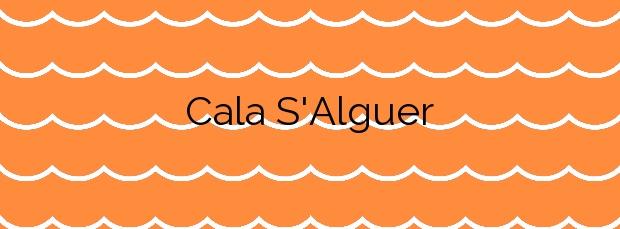 Información de la Cala S'Alguer en Palamós
