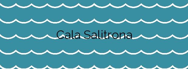 Información de la Cala Salitrona en Cartagena