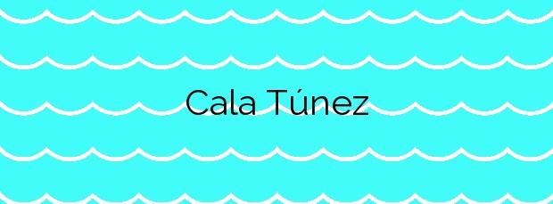 Información de la Cala Túnez en Cartagena
