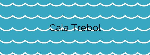 Información de la Cala Trebol en L'Ametlla de Mar