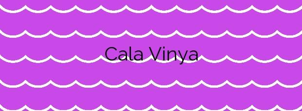 Información de la Cala Vinya en Salou