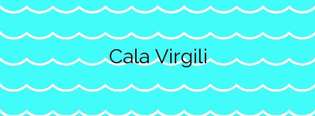 Información de la Cala Virgili en Manacor