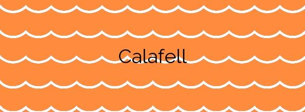 Información de la Calafell en Calafell