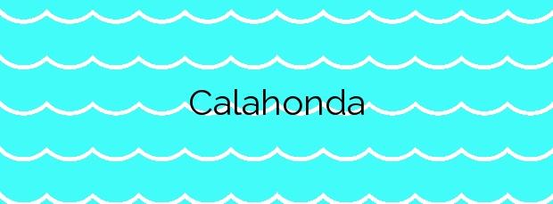 Información de la Calahonda en Mijas