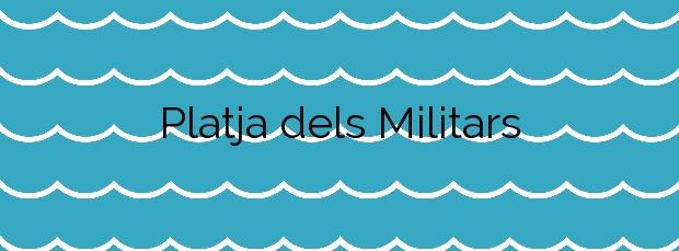Información de la Platja dels Militars en El Prat de Llobregat