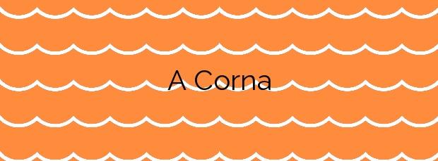 Información de la Playa A Corna en Ribeira