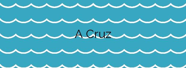 Información de la Playa A Cruz en Muxía