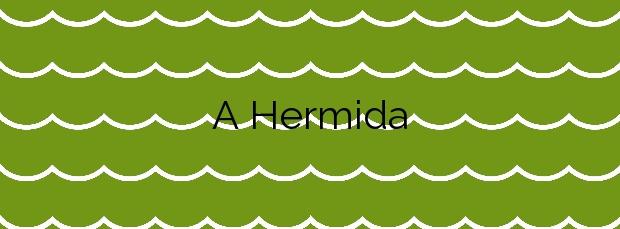 Información de la Playa A Hermida en Ponteceso