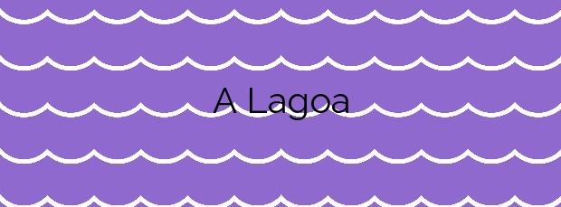 Información de la Playa A Lagoa en Vigo