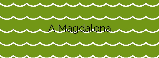 Información de la Playa A Magdalena en Cedeira
