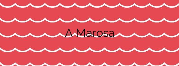 Información de la Playa A Marosa en Burela