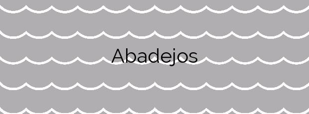 Información de la Playa Abadejos en Fuencaliente de la Palma