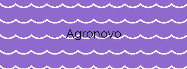 Información de la Playa Agronovo en A Pobra do Caramiñal