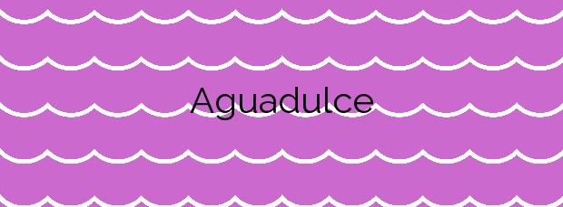 Información de la Playa Aguadulce en Arico