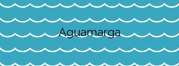 Información de la Playa Aguamarga en Níjar